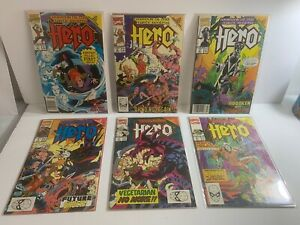 COMIC HERO Warrior Of The Mystic Realms #1-6 Complete Series  FN/VF1990 MARVEL