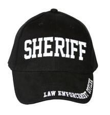 Law Enforcement Sheriff Brass Buckle Adjustable Hat