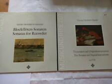 SAWT9421-B 9559-A Handel Recorder Sonatas Bruggen Trio Original Instruments Zeit