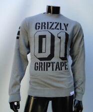 BOWL 01 GRIZZLY GRIPTAPE ROYAL CREWNECK PULLOVER MENS MEDIUM