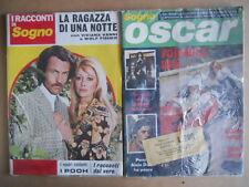 BUSTA anni 70 di 2 Fotoromanzi Sogno Oscar 309 + I Racconti di Sogno 95  [D4]