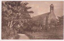 Bude Church Cornwall England Vintage Postcard US069