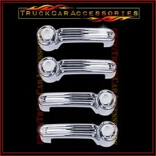 For JEEP Liberty 2008 2009 2010 2011 2012 2013 Chrome 4 Door Handle Covers w/o P
