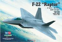 Hobbyboss 1/72 Scale 80210 F-22A Raptor Model Kit Hot