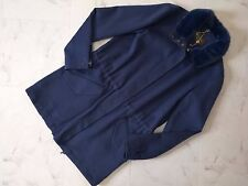 NWT Loro Piana Mink Fur 100% Double Cashmere Coat Size40