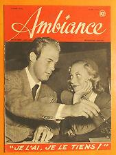 Ambiance N° 24 du 30/05/1945-Michèle Morgan & Bob Marshall- Maréchal Montgomery