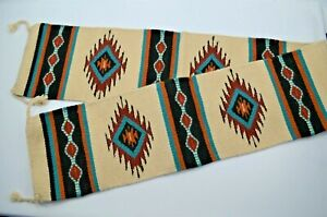 "El Paso Saddle Blanket Co. Southwestern Long Floor Rug Runner Tapestry 80"""