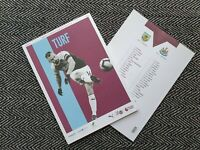 Burnley v Newcastle United 2018 Programme 26/11/2018! FREE UK DELIVERY!LAST TWO!