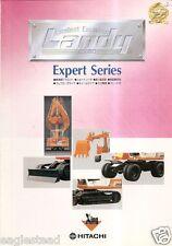 Equipment Brochure - Hitachi - Ex60 series Landy - Excavator - Japanese (E2250)