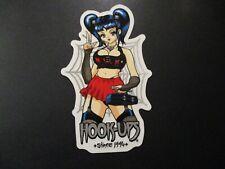 HOOK-UPS Skate Sticker NUN boobs skateboards helmets decal hentai