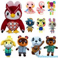 NEW Animal Crossing Tom Nook Celeste Chrissy Bunnie Flora Tasha Plush Toy Doll 1