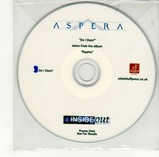 (GO313) Aspera, Do I Dare? - DJ CD