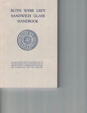 Ruth Webb Lee's Sandwich Glass Handbook 1985 (PB, 1st Ed)