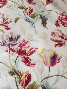 Laura Ashley Gosford Cranberry Faux Silk £14 Per Metre