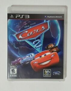 Sony Playstation PS3 Disney Pixar Cars 2 The Video Game Excellent Family Rated E