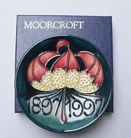 Moorcroft Centenary Dish - Boxed - Made in England