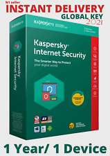 Kaspersky Internet Security License Key | 1 Year | 1 Device | Global Key 2021