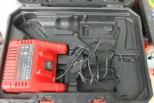 Milwaukee C1418C Battery Charger c/w Milwaulkee Drill Case for C18PD Drill