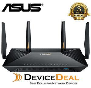 ASUS BRT-AC828 AC2600 Dual-Band Wireless Gigabit MU-MIMO Business Router