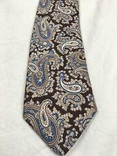 Men/'s Charvet Place Vendome Black Silk Bow Tie Made in France