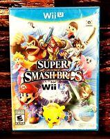 Super Smash Bros. - Nintendo Wii U - World Edition - Brand New - Sealed