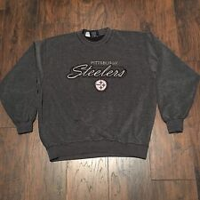 Pittsburgh Steelers Men's Vintage Lee Sport Heavy Knit Pullover Sweater Size L