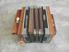 Antique old Bandoneon Bandonion Accordion wooden vintage music retro country