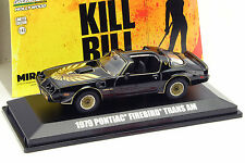 Pontiac Firebird Trans Am película Kill Bill Volume II 2004 negros 1:43 GreenLight