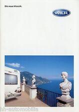 1001WI Wilk S3 S4 Wohnwagen Prospekt 2006 2007 Katalog Caravan broschyr