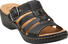 Clarks Women Hayla Cavern - Comfortable, Lightweight Slide-in  Sandals