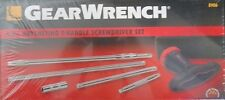 Gearwrench 8906 6Pc. Ratcheting T-Handle Screwdriver Set