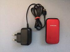 CELLULARE SAMSUNG GT E1190 (rosso) funzionante (con scatola)