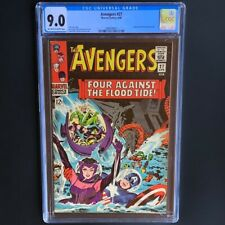 The Avengers #27 (1966) 💥 CGC 9.0 OW-W 💥 Attuma & Beetle Appearance! Marvel
