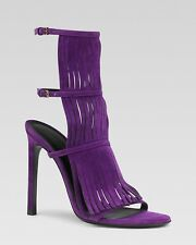 806299deae9 GUCCI BECKY SEXY FRINGED HIGH HEEL 36 36.5 37 37.5 38 38.5 39 39.5 LOVE  SHOES