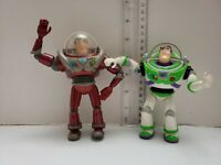 Toy Story interstellar BUZZ LIGHTYEAR Ultimate Maroon Action Figure RARE LOT