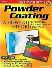 Sa296 Powder Coating A How To Guide Book Auto, Motorcycle, Bike And Other Parts
