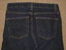 GAP Size 10 Ankle Bootcut Stretch Denim Dark Blue Womens Jeans