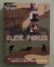 discovery channel  ELITE FORCES   DVD   4 disc set
