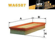 1x Wix Air Filter WA6587 - Eqv to Fram CA8768