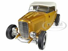 1932 FORD ROADSTER GOLD GRAND NATIONAL DEUCE SERIES #2 1/18 ACME A1805007