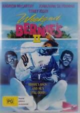 Weekend at Bernies II 2 DVD New and Sealed Australia All Regions