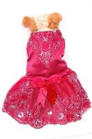 "Pet Palace® ""Baby Flower"" Elegant Dog Dress for weddings and special occasions"