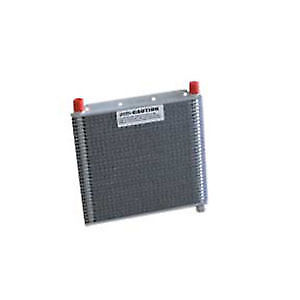 PWR Trans Oil Cooler 280 x 255 x 19mm (3/8) TEMP SENSOR Oil Cooler PWO5705