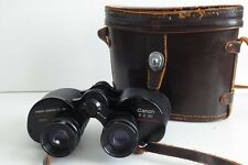 VINTAGE CANON 8 X 30 BINOCULARS WITH CASE