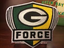 G Force Edition Patch  LAMBEAU FIELD POWER. PACKERS ,JERSEY READY EASY IRON-ON.
