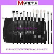 NEW Morphe Brushes 12-Piece EYE-CREDIBLE Set w/Zipper Case 702 FREE SHIPPING