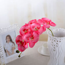Artificial Flower Butterfly Orchid Fake Silk Flower Home Wedding Festival Decor