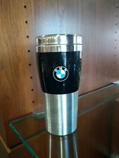 BMW Fusion Tumbler - Black, 14 Ounce, Insulated with Roundel Logo 80902208678
