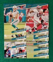 2020 Prestige Miami Dolphins Team Set, Tua Tagovailoa RC,  9 cards 3 RC
