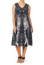 Ladies beme Snake Print Dress Size 16